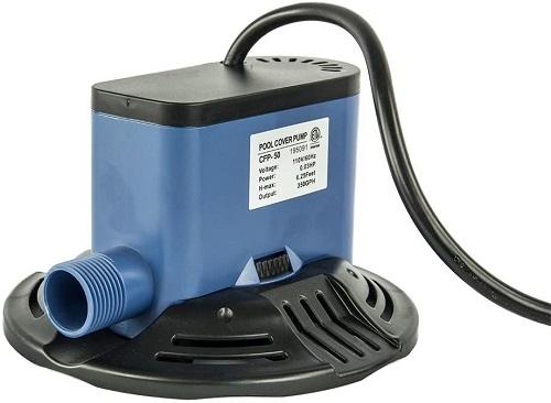 ocean blue pool cover pump