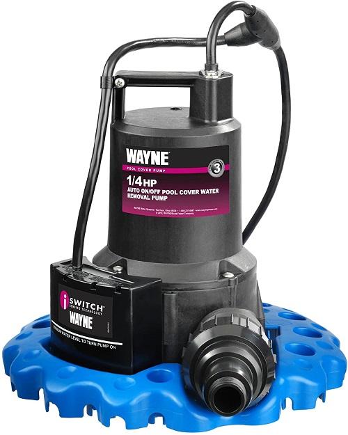 wayne pool cover pump